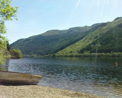 Fishing on Loch Eck